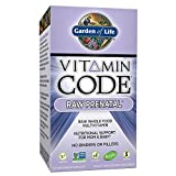 Garden of Life Prenatal Vitamins - Vitamin Code Raw Prenatal Whole Food Vitamin Supplement for Mom and Baby, Vegetarian, 30 Capsules