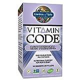 Garden of Life Vegetarian Prenatal Multivitamin Supplement with Folate - Vitamin Code Raw