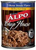 ALPO Chop House in Gravy Rotisserie Chicken, 22 Ounce Tins (Pack of 12), My Pet Supplies