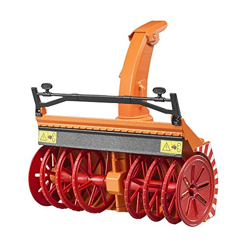 toy tractor with snow blower - 2
