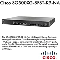 Cisco Systems, Inc - Cisco 16-Port 10 Gig Managed Switch - 8 Ports - Manageable - 8 X Rj-45 - Stack Port - 8 X Expansion Slots - 10Gbase-T - Desktop Product Category: Routing/Switching Devices/Switches & Bridges
