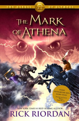 The Heroes of Olympus, Book Three The Mark of Athena (Heroes of Olympus, The  Book Three): Riordan, Rick: 9781423142003: Books - Amazon.ca