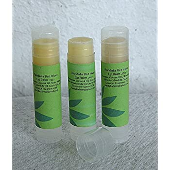 Hand Crafted Beeswax Honeysuckle Lip Balm 3/5