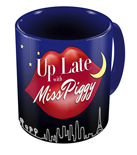 Diamond Select Toys The Muppets: Up Late with Miss Piggy Mug
