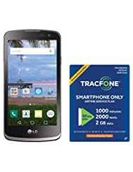 TracFone LG Rebel 4G LTE Prepaid Smartphone with Amazon Exclu...