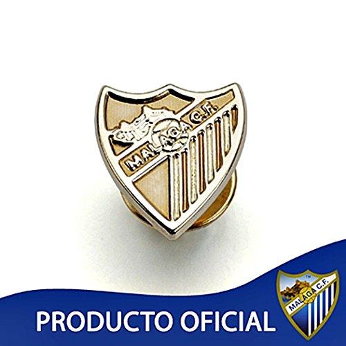 Broche Málaga CF bouclier 18k loi de 16mm d'or. lisse [8663] - Modèle: 60-036-L