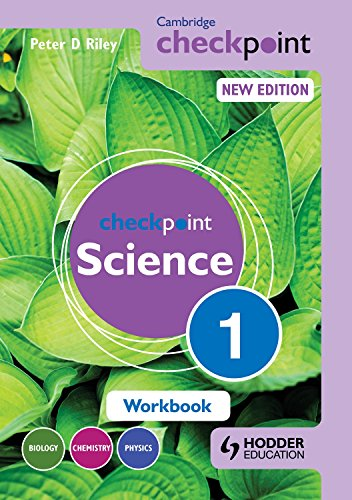 Cambridge Checkpoint Science Workbook 1