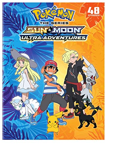 Pokemon The Series : Sun and Moon – Ultra Adventures Complete Collection (DVD)