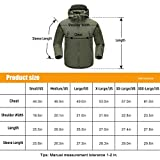 FREE SOLDIER Men's Fleece Lined Softshell
