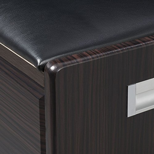 MasterPanel - Wood Shoe Storage Bench Ottoman Cabinet Closet Shelf Entryway Multipurpose #TP3305 by MasterPanel (Image #4)