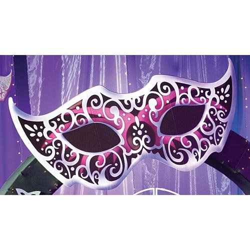 Large Mardi Gras Masquerade Ball Mask Cutout Standup