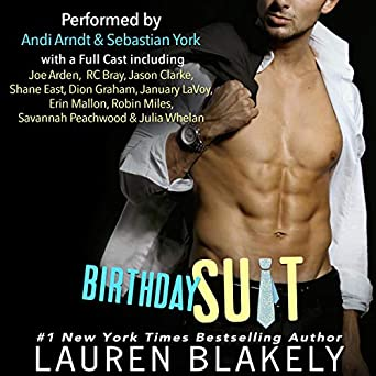 978b23e7327b0 Amazon.com  Birthday Suit (Audible Audio Edition)  Lauren Blakely ...