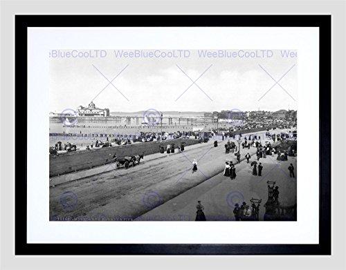 MORECAMBE PARADE AND PIER ENGLAND VINTAG - Vintage Black Pier Mount Shopping Results