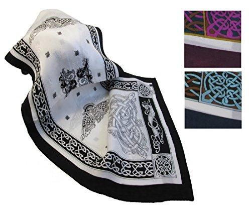 Irish-Silk-Scarf-63-Celtic-Design-from-Ireland