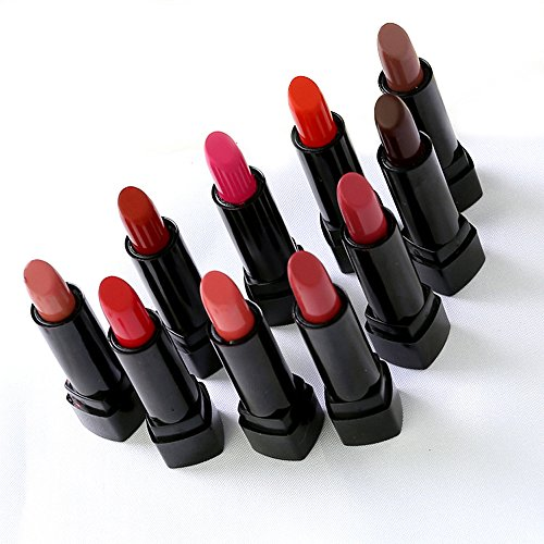 [Lipstick ShineMore Makeup Lipsticks Set – Long Lasting Cosmetics Lipstick 10 Colors Set (10 Pack)] (Lipstick Halloween Costumes)