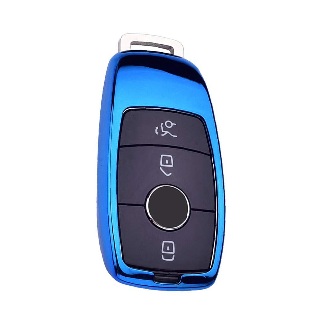 Pandiki TPU Auto Telecomando sostitutivo Caso Chiave per Mercedes-Benz e300l e200l e320ls Copertura Automatica di Protezione Shell Chiave