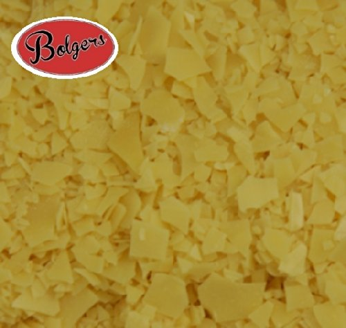 Bolgers, Carnauba Wax Flakes - use to make beeswax furniture polish T3 grade 100g Bolgers - Endless Green Group Ltd