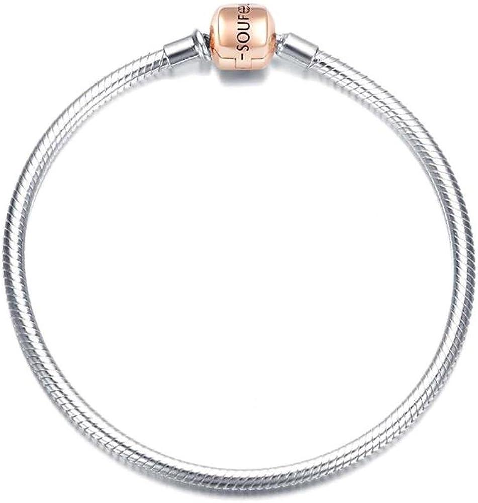SanaBelle\u2122 925 Sterling Silver Infinity Bracelet Various Chain Sizes