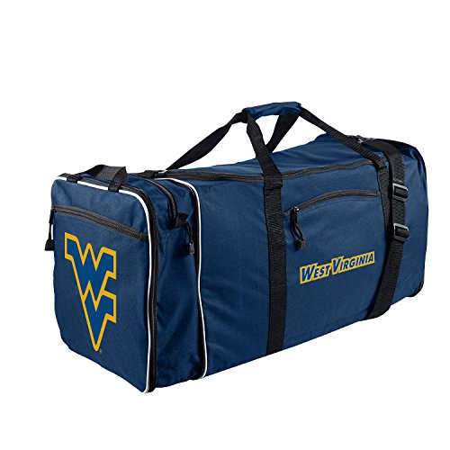 West Virginia Mountaineers Bag (Officially Licensed NCAA West Virginia Mountaineers Steal Duffel Bag)