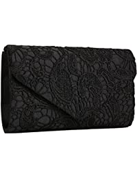Amazon.com: Black - Evening Bags / Handbags & Wallets: Clothing ...