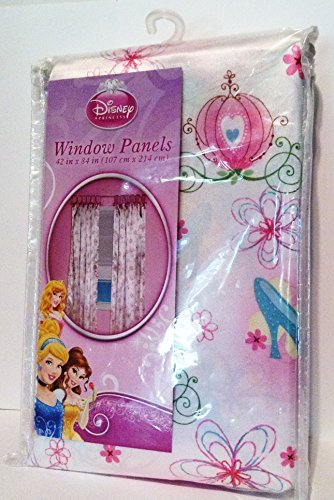 Disney Princess Cinderella Window Panels - 2 Pack
