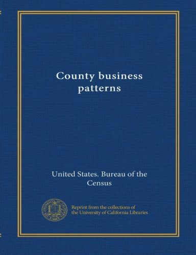 County business patterns (no.19 1997) pdf