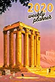 """2020 Weekly Planner: 6""""x9"""" Greece Organizer Schedule 2020 Monthly Weekly Planner for Greek history, mythology and travel fans Calendar Agenda Vintage"""
