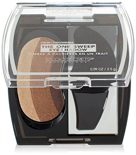 L'oreal Paris Studio Secrets Professional the One Sweep Eye Shadow, Playful for All Eyes, Pack of 2 ()