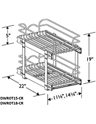 Grenada Twilight Double Wire Rollout Tray For 18 Base