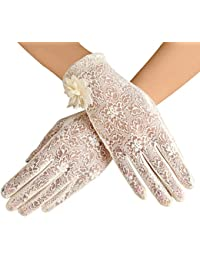 Summer Women Screentouch Gloves Sun Uv Protection Driving Gloves Anti-skid