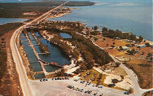 Key West Florida Birdseye View Of City Vintage Postcard K78405