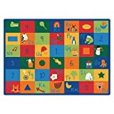 Carpets for Kids 7012 Printed Learning Blocks Kids Rug Rug Size: 8'4' x 11'8'