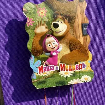 masha Y El Oso Fiesta De Cumpleaños Decoración Kids Party ...