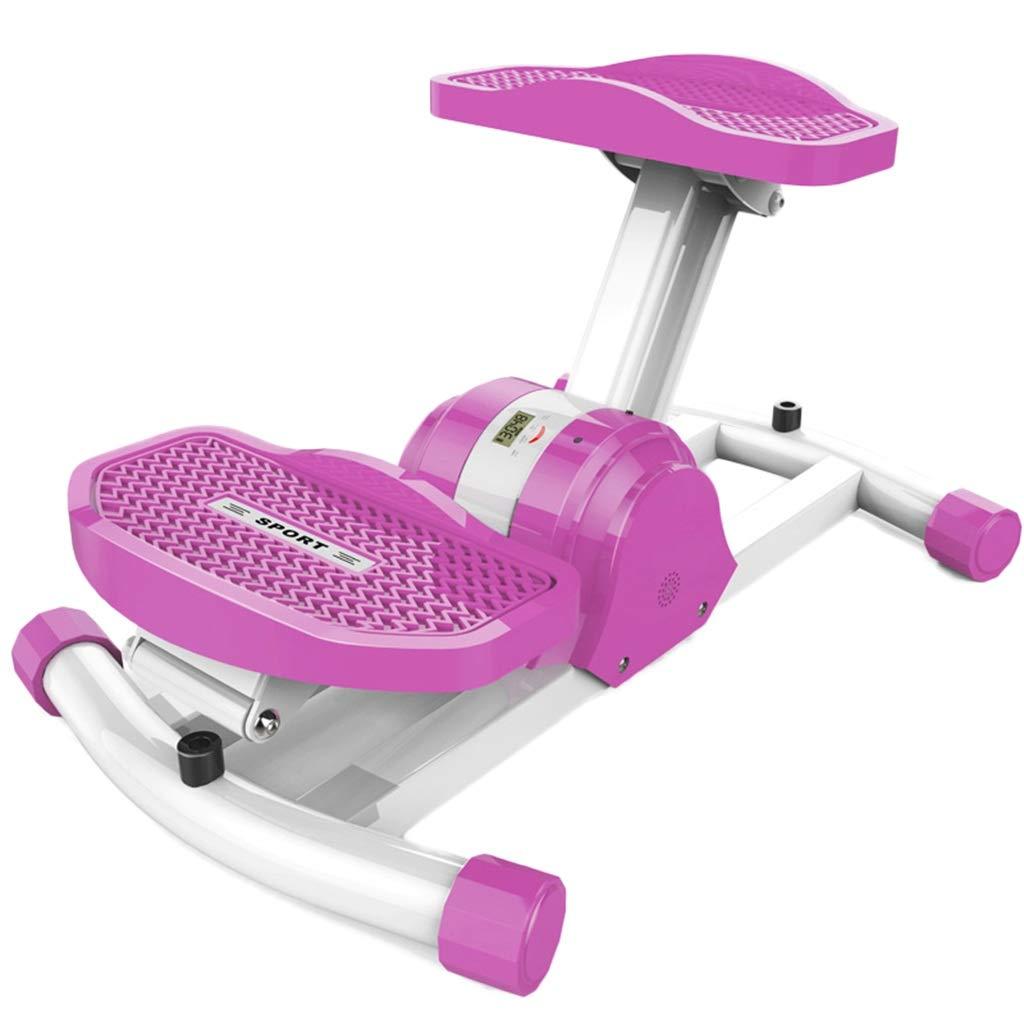 C-J-Xin ペダルフィットネス機器、世帯を失う重量体彫刻フットマシン屋内スポーツ用品、54.5 * 35.5 * 23センチ 室内フィットネス機器  Purple B07PK9WK6X