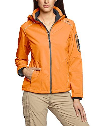 arancione Arancione Da Donna Softshell Cmp Giacca grigio XnqfIg