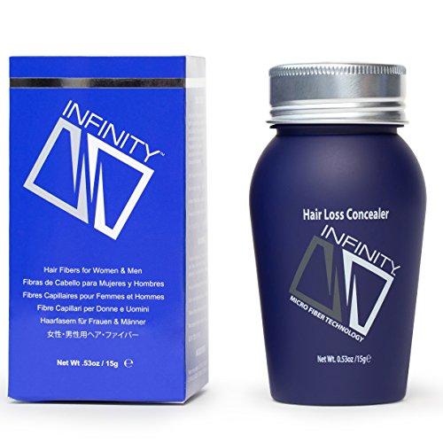Infinity Hair Fibers for Men & Women - 10 colors in 4 sizes (travel to jumbo)
