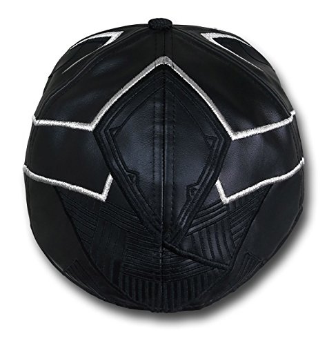 4c172b24acb Black Panther Armor New Era 5950 Hat- 7 1 8 at Amazon Men s Clothing store