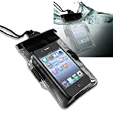 eForCity Waterproof Bag Case for Cell Phone / PDA, Black, Best Gadgets