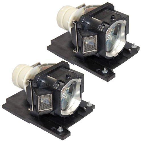 FI Lamps Hitachi CPX2015WNLAMP Lamp - Premium Powerwarehouse Replacement Lamp (Qty: 2pcs)
