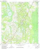 YellowMaps Pine Lakes FL topo map, 1:24000
