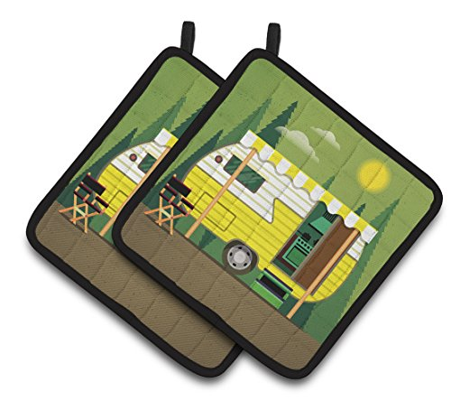 Retro Camper Pot Holder Set made our list of gift ideas rv owners will be crazy about that make perfect rv gift ideas which are unique gifts for camper owners