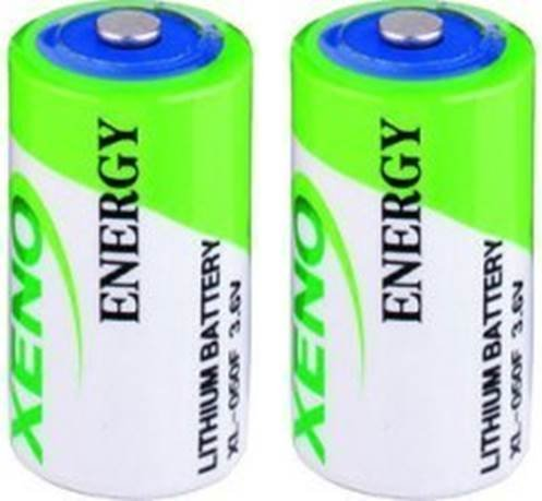 2pk Aa Lithium Battery - Xeno Energy XL-050F 1/2 AA 3.6V Lithium Batteries (2 Batteries)