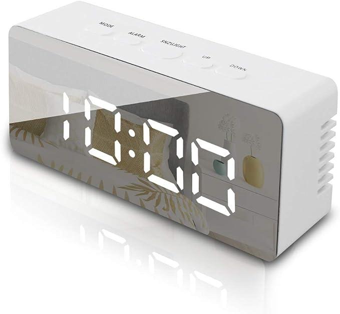 GLOUE Digital travel Alarm Clock