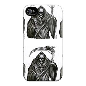 Iphone 6plus IfO1846UkXg Customized Colorful Grim Reaper Image Protector Hard Phone Cover -JonathanMaedel