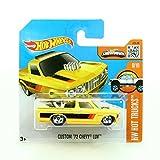 72 chevy toy truck - Hot Wheels 2016 HW Hot Trucks Custom '72 Chevy Luv [Yellow] Short Card