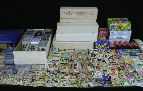 Sox Mlb Baseball Cards (750+ MLB Baseball Cards - 1980's Thru Early 2000's Rookies, Stars, Superstars From Many Brands (From a Huge)