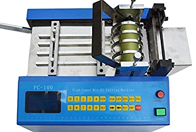 110V Auto Heat-shrink Tube Cable Pipe Cutter Cutting Machine