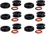 fuel injectors toyota yaris - GB Remanufacturing 8-024A Fuel Injector Seal Kit (6)