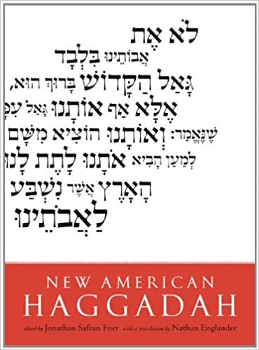 graphic about Printable Haggadah referred to as Contemporary American Haggadah: Jonathan Safran Foer, Nathan