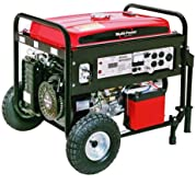 Multi-Power MP5500DF 5500-Watt 13 HP OHV 4-Cycle Propane/Gasoline Powered Generator With Electric Start, CARB...